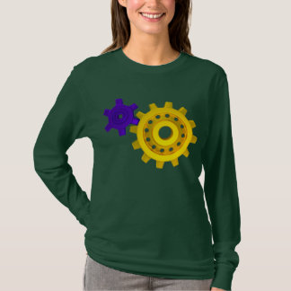 Gold and purple gears T-Shirt