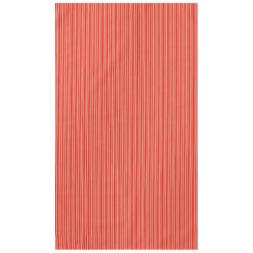 Disney Themed Gold and Red Christmas Stripes Tablecloth