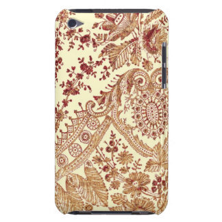 Gold And Red Lace iPod Case-Mate Case