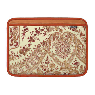 Gold And Red Lace Roses MacBook Air Sleeve