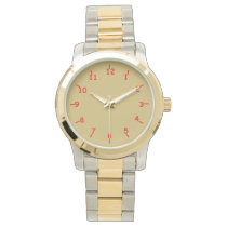 Gold and Red Wristwatches
