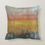 Gold and Silver Abstract Pillows