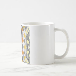Gold and silver background coffee mug