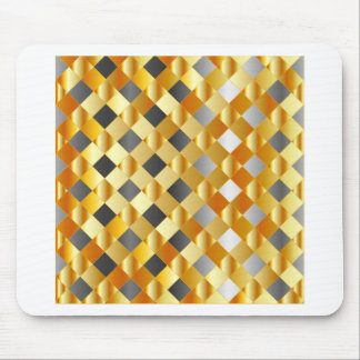 Gold and silver background mouse pad