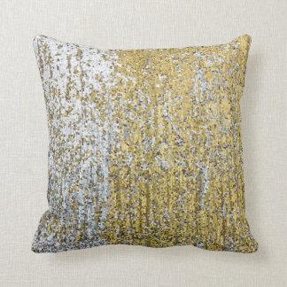 silver glitter pillows decorative throw pillows zazzle. Black Bedroom Furniture Sets. Home Design Ideas
