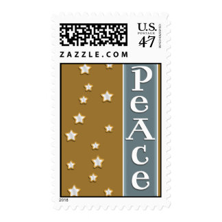Gold and Silver Peace Postage