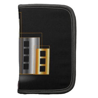 Gold and silver skyscrapers organizer