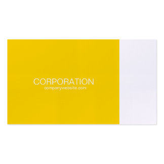Gold and white classy business card