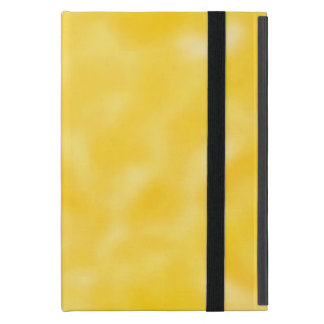 Gold and White Mottled Cover For iPad Mini