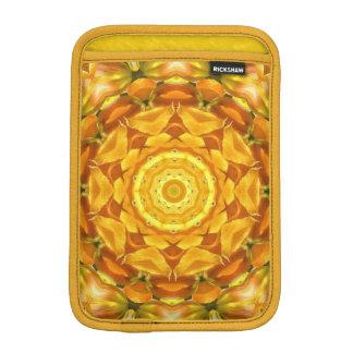 GOLD AND YELLOW KALEIDOSCOPE IPAD MINI CASE iPad MINI SLEEVE