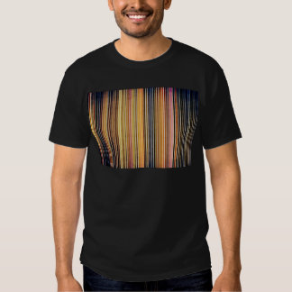 Gold and Yellow Stripes T Shirt