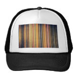 Gold and Yellow Stripes Trucker Hats