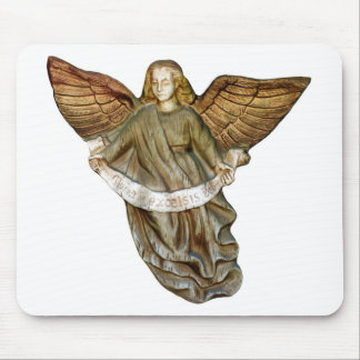 Gold Angel Mouse Pad