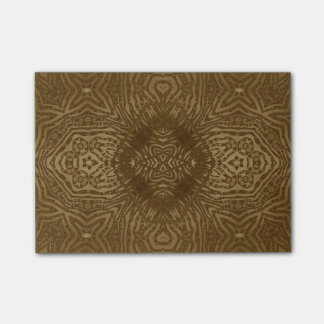 Gold Animal Print Post-it® Notes