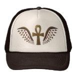 Gold Ankh Trucker Hat