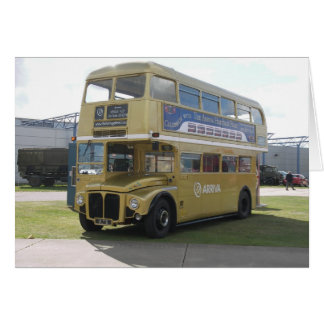 Gold Arriva London Routemaster RM 6 Card
