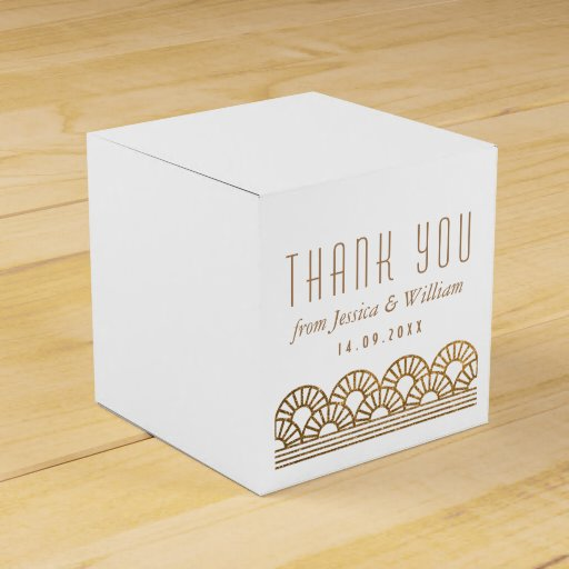 Wedding Gift Box For Guests : The Future Mrs.-Blue Wedding Wedding Favor Boxes