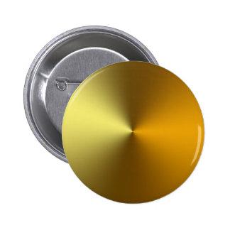 gold art golden 2 inch round button
