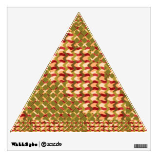 Gold ARTISTIC MODERN ART ABSTRACTS Sparkle PRINT Wall Sticker