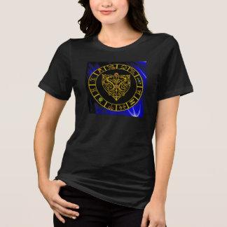 GOLD ASTRAL HEART Zodiac Signs Astrology Chart T-Shirt