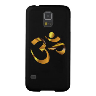 Gold Aum Case For Galaxy S5