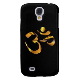 Gold Aum Galaxy S4 Cover