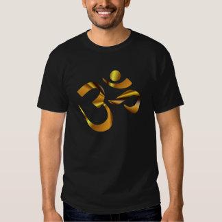 Gold Aum Tee Shirt