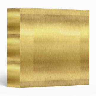 "Gold Avery Signature 1.5"" Binder"