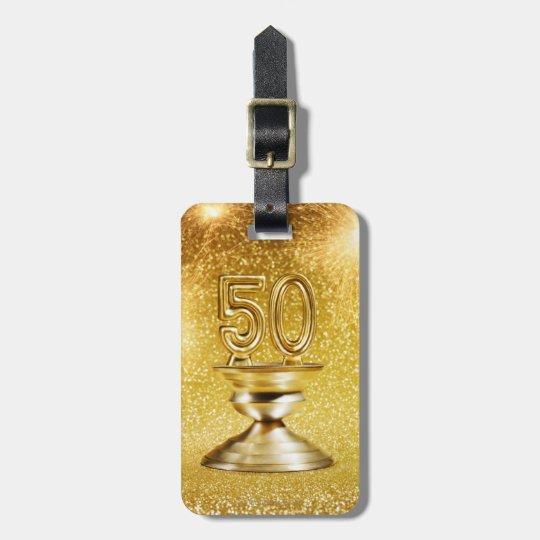Gold Awards Bag Tag