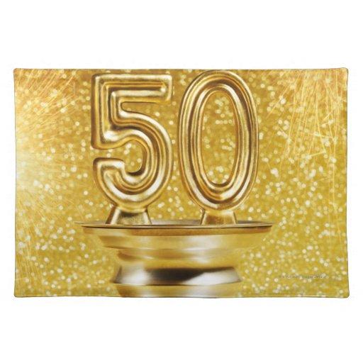 Gold Awards Cloth Placemat