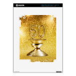 Gold Awards Decals For iPad 3