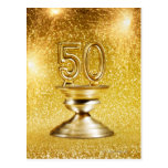 Gold Awards Postcard
