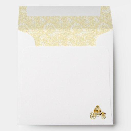 gold baby shower envelope zazzle