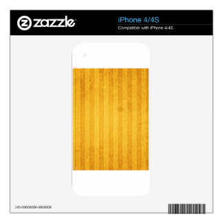 gold-background #2 skin for iPhone 4S