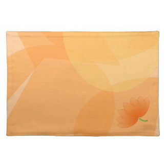 Gold Background flower Placemat