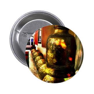 Gold Balls Pinback Button
