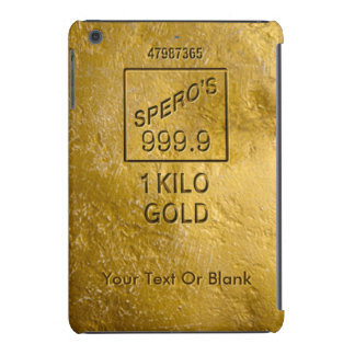 Gold Bar iPad Mini Case