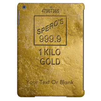 Gold Bar Cover For iPad Air