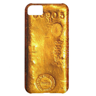 Gold Bar Case For iPhone 5C