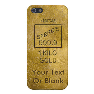 Gold Bar Case For iPhone SE/5/5s
