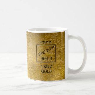 Gold Bar Coffee Mug