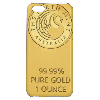 Gold Bar Cover For iPhone 5C