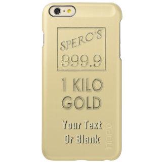 Gold Bar Incipio Feather Shine iPhone 6 Plus Case