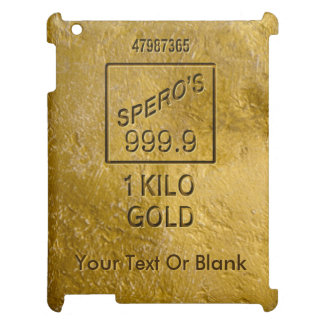 Gold Bar iPad Case