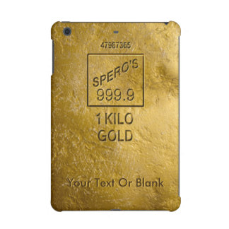 Gold Bar iPad Mini Retina Cover