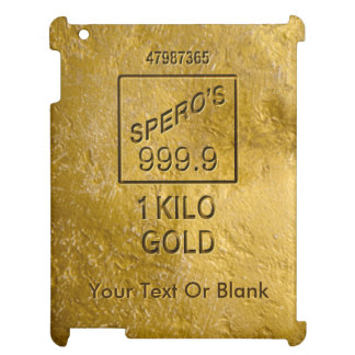 Gold Bar Case For The iPad