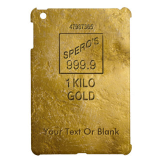 Gold Bar iPad Mini Cases