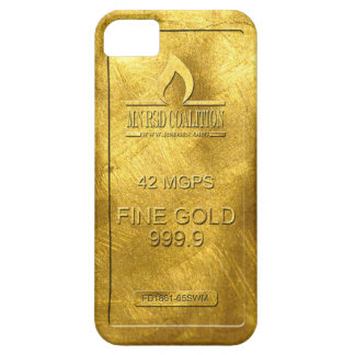 Gold Bar iPhone 5/5S Phone Case iPhone 5 Cases