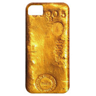 Gold Bar iPhone 5 Covers