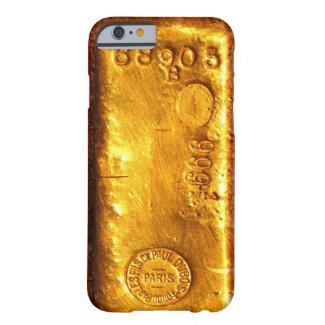 Gold Bar iPhone 6 Case